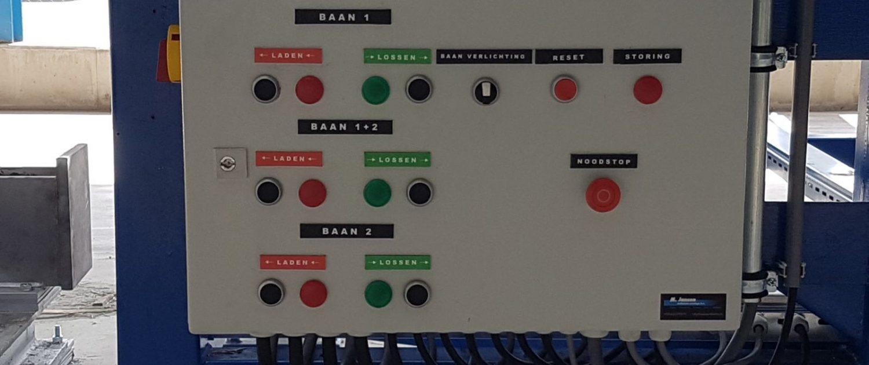 laad/los baan jansen technische montage
